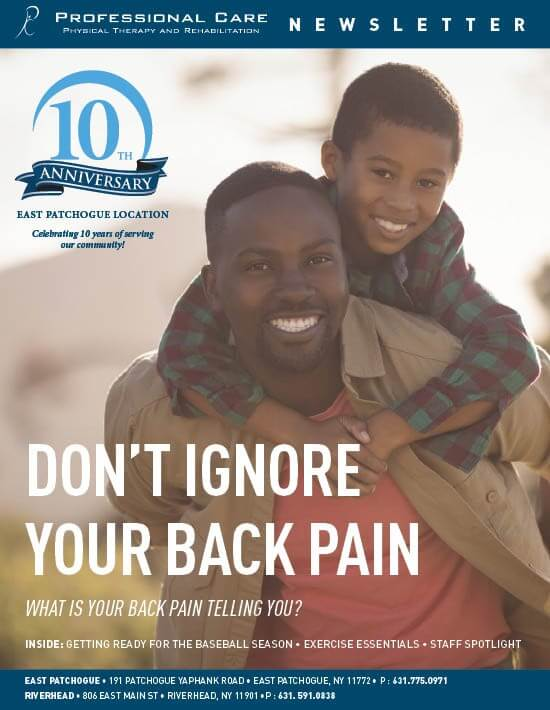 Don't Ignore Your Back Pain