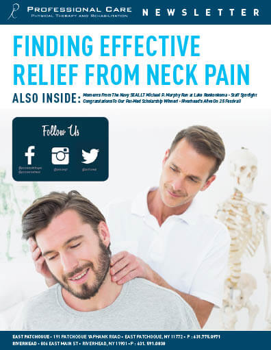 Finding Effective Relief from Neck Pain