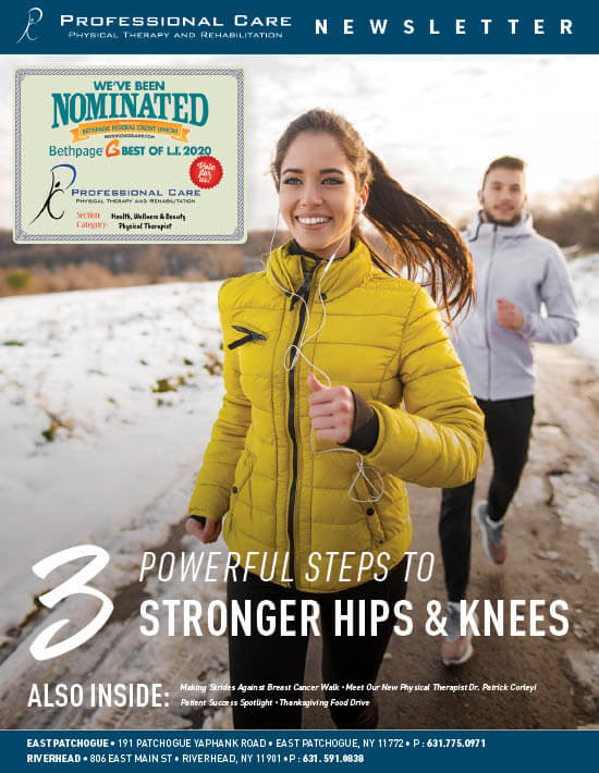 three steps to stronger hips and knees